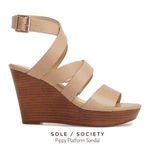SOLE SOCIETY Pippy Platform Sandal